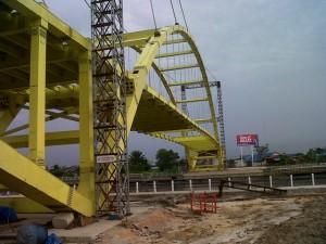 Awal Mei, Jembatan Siak III Selesai